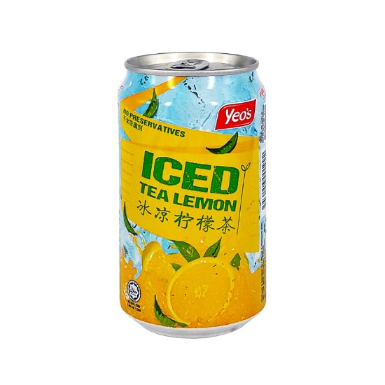 Picture of Yeo's Can Iced Tea Lemon 300ml