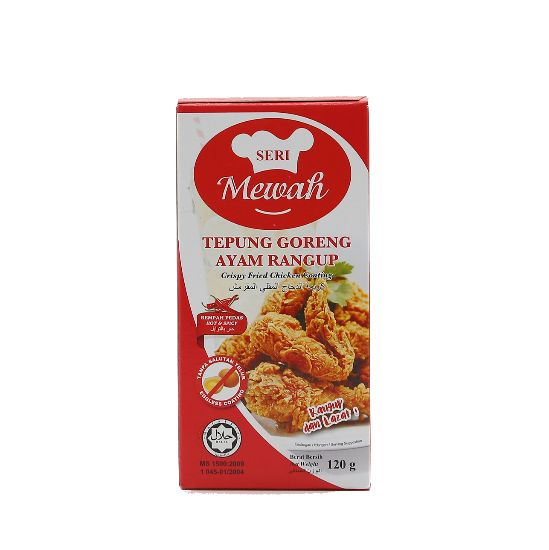 Picture of Seri Mewah Fried Chicken Coating 120G-Hot & Spicy