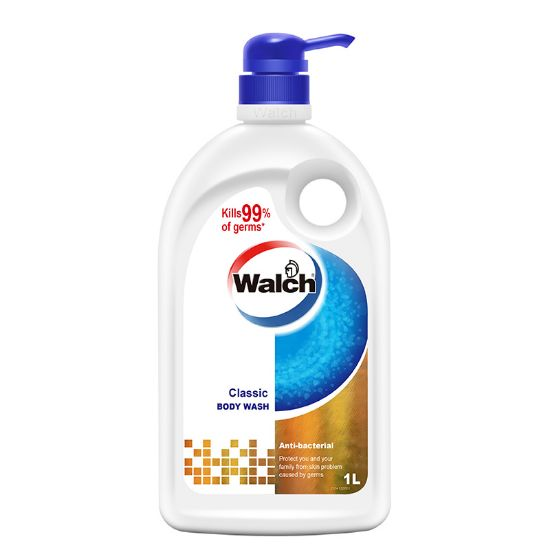 Picture of Walch Antibacterial Body Wash Classic 1L