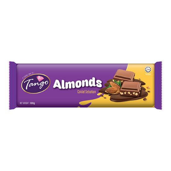 Picture of Tango Almond Bar 100G