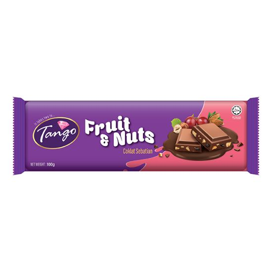 Picture of Tango Fruit & Nuts  Bar 100G